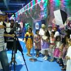 أثناء تصوير أغنية عيد الفطر 2014 المخرج جاسم البطاشي ..