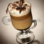 stock photo late coffee with chocolate 8212042