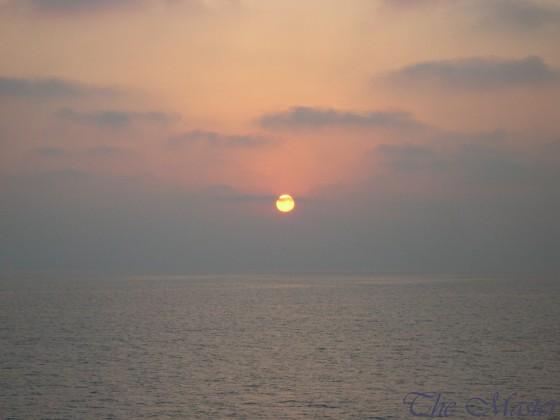شمس المغيب