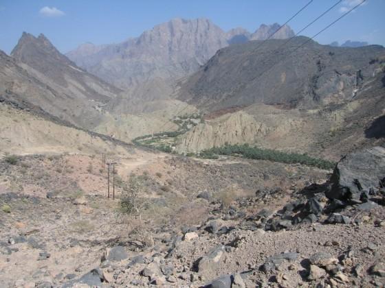 وادي محوت من اعلي الجبل