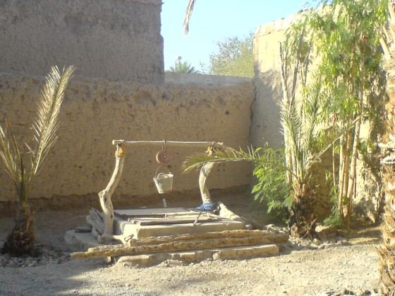 منزل على الطراز القديم - الحوش