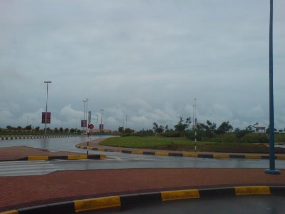 امطار دار الحي - بوظبي