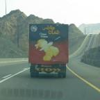 شاحنة بطاطـس عمـان