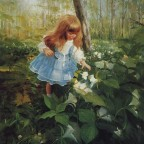 painting children kjb DonaldZolan 55EnchantedForest sm