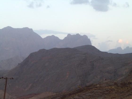 جبال وادي محوت