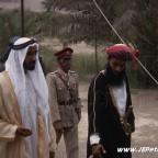 صاحب الجلالة مع الشيخ زايد رحمه الله في مسقط