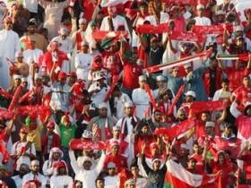 فرحة الجمهور العماني بخليجي 19