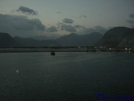 ميناء خصب بعد المغيب