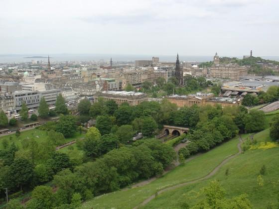 منظر من إدنبرة