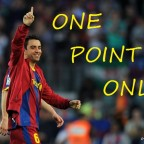 one point