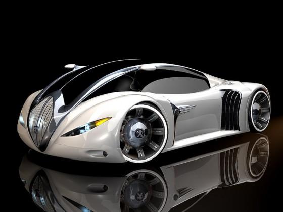 سيارة من المستقبل