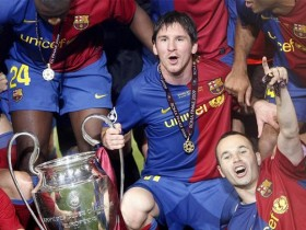 messi campeon champion league barcelona
