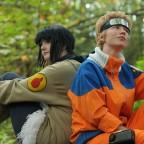 Naruto and Hinata by twinfools