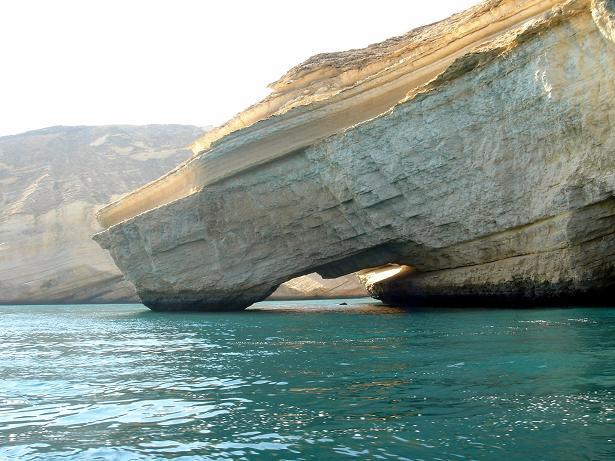 تلاقي الجبل مع البحر