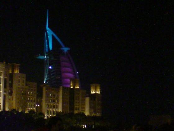 برج العرب من مدينة جميرا
