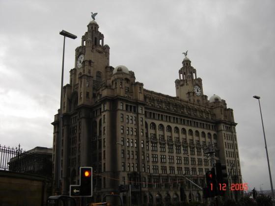 بريطانيا مبنى في مدينة liverpool